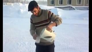 Soğuk Havada Sıcak Su Dökülürse  Deney