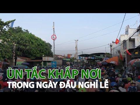 Ngày đầu nghỉ lễ: Ùn tắc giao thông khắp cả nước  VTC14