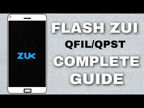 Stock ZUI Rom Flashing Guide (QPST/QFIL) On Lenovo Zuk Devices (Zuk Z2+) | Hindi