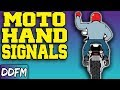 16 IMPORTANT Motorcycle Group Riding Hand Signals
