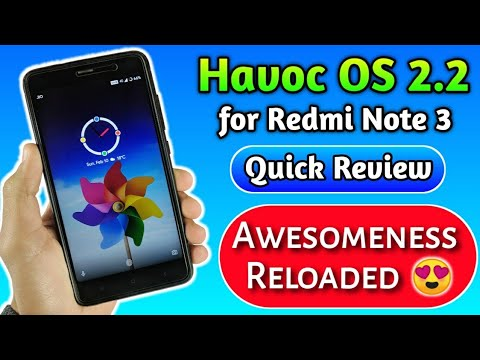 Havoc OS 2 5 for Redmi note 3 Review - The Andro Guy