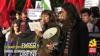 Uluslararası Eylem Günü: TKG'den Filistinle dayanışma eylemi