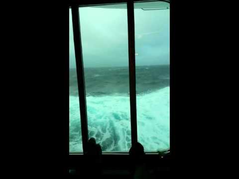 Norwegian Breakaway seas October 3