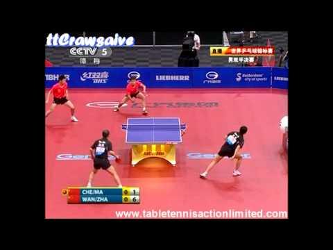 Amazing Double Point ! Wang Hao/Zhang Jike vs Ma Lin/ Chen Qi