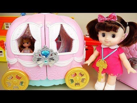 Ba doll Pumpkin carriage car toys ba Doli play