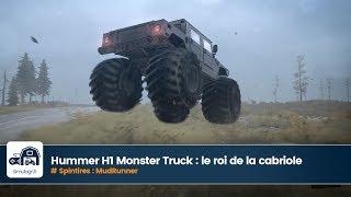 Hummer H1 Monster Truck pour Spintires MudRunner