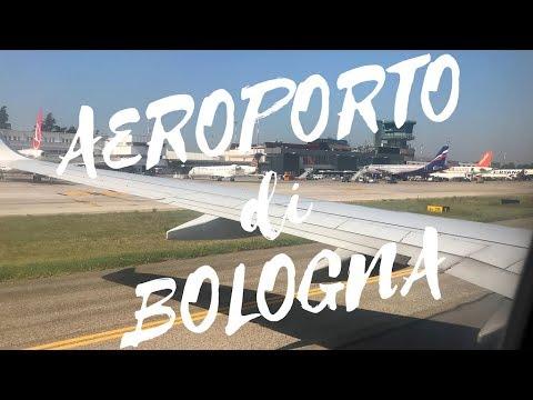 Atterraggio Aereo Aeroporto Di Bologna Marconi 4K