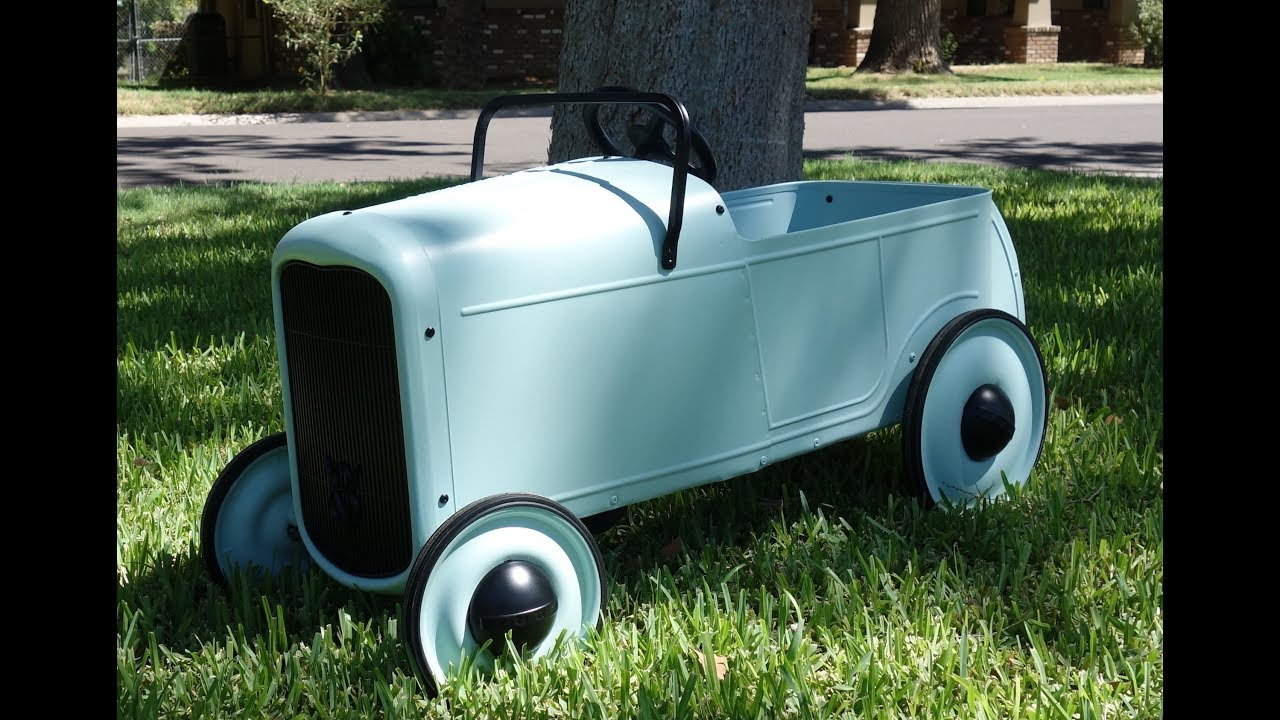 1932 Ford Pedal Car - YouTube