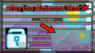 Buying World Full Science   Growtopia Indonesia