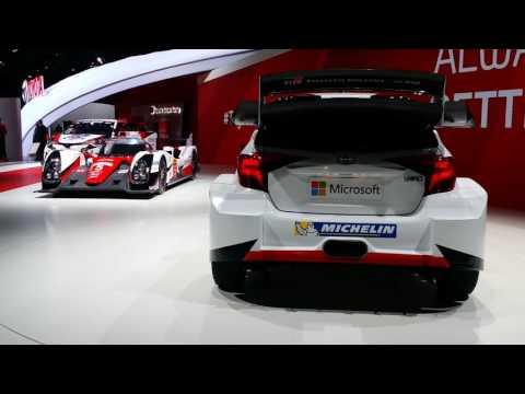 2016 Paris Motor Show - Toyota Motorsport