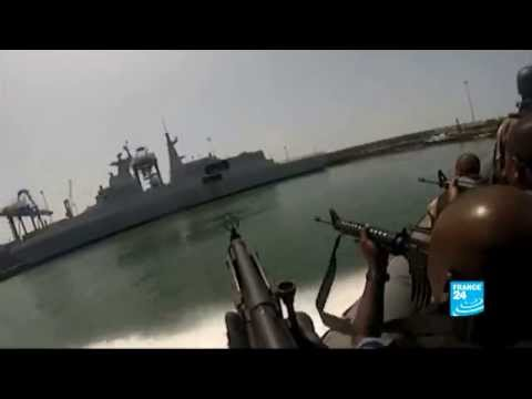 FRANCE 24 on board with the South African Maritime Reaction Squadron (MRS) to fight piracy