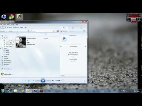 How to put your picture in mp3 song album cover (Windows 7)