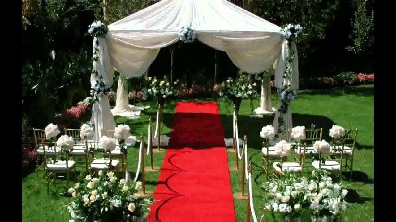 High Quality Cheap Outdoor Wedding Ideas Design Decoration [ilcebasa]   YouTube