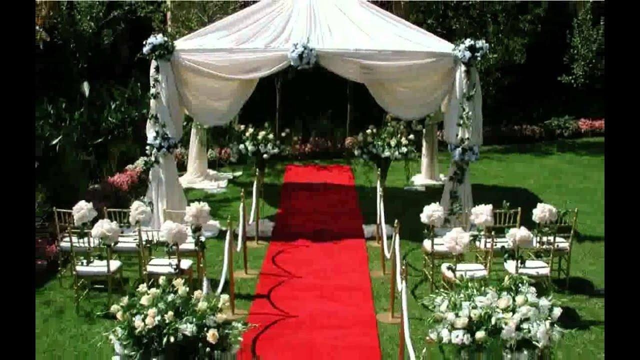 Cheap Outdoor Wedding Ideas Design Decoration ilcebasa  YouTube