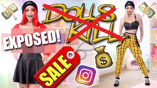 IG BADDIE on a BUDGET! | Dolls Kill CLEARANCE Try On Haul & Review