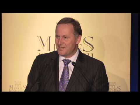 Rt Hon John Key MP delivers the John Howard Lecture 2012