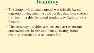 More about Teambuy and Dealfind Ghassan Halazon