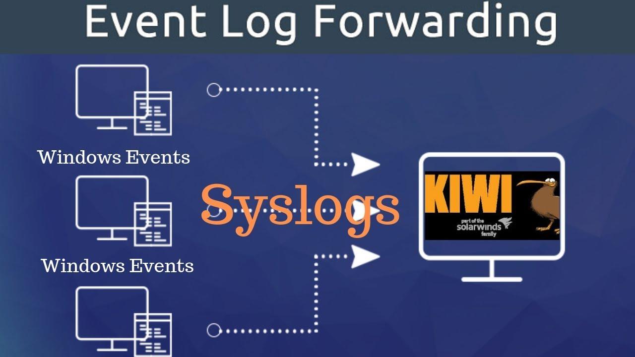 Using Evtsys exe Forward Windows Event Logs to Kiwi Syslog Server