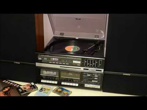 Playing 1980s Music On The Fisher MC-723BK Stereo