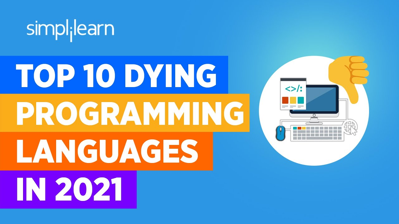 Top 10 Dying Programming Languages In 2021 | Worst Programming Languages In 2021