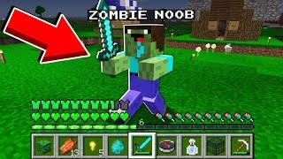 Minecraft - HOW to play ZOMBIE NOOB in Minecraft: NOOB vs PRO! Animation