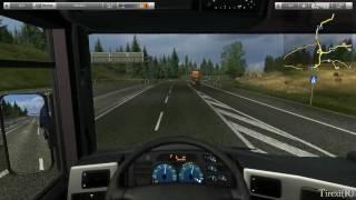 German Truck Simulator HD gameplay