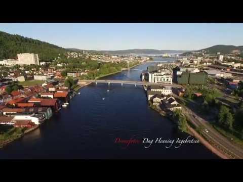 Drammen - byen ved elva