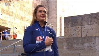 Sandra Perković zlatna na EP 2018 u altletici! Himna, dodjela medalja, nastup!