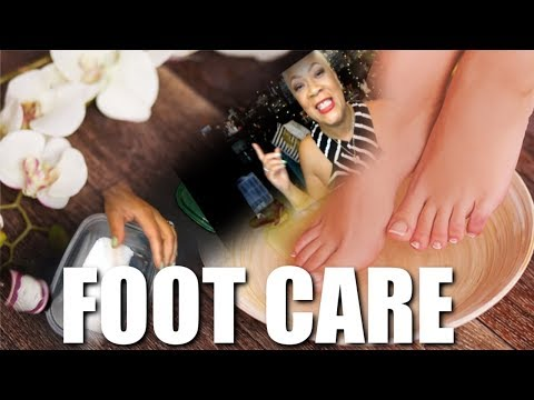 TEA TREE OIL FOOT SOAK WITH EPSOM SALT FOOT FUNGUS, TIRED, SORE, ACHING AND ITCHING FEET