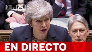 DIRECTO BREXIT | El Parlamento británico decide si acepta una salida sin acuerdo