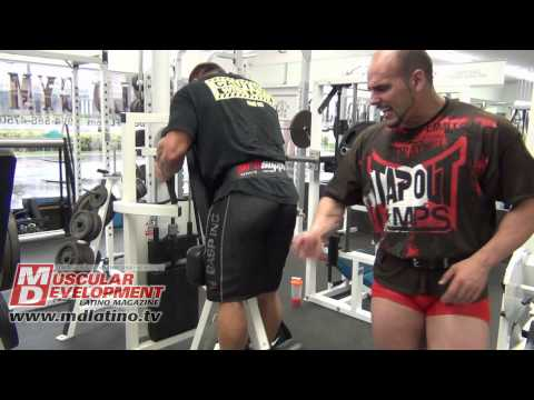 David Riley - Fort Lauderdale, Florida - Legs Workout  - 18-07-2013