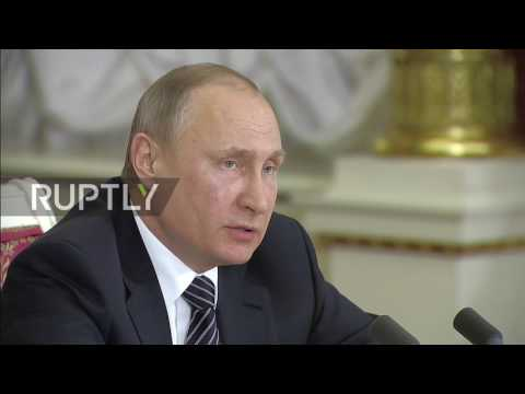 Russia: Full territorial integrity of Syria is 'indispensable condition' for settlement - Putin