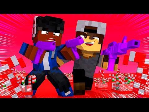 Minecraft: SORTE NO PVP - ARMAS DE DOCE!
