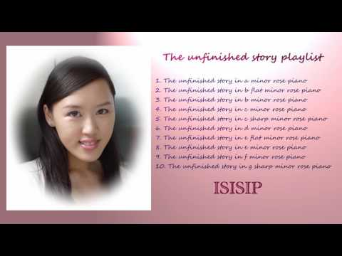 Piano music - the unfinished story piano solo playlist - sad piano instrumental song