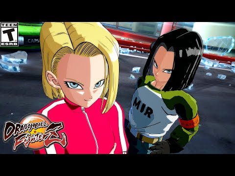 TOURNAMENT OF POWER ANDROID 18 & 17 | Dragon Ball FighterZ Mod [PC - HD]