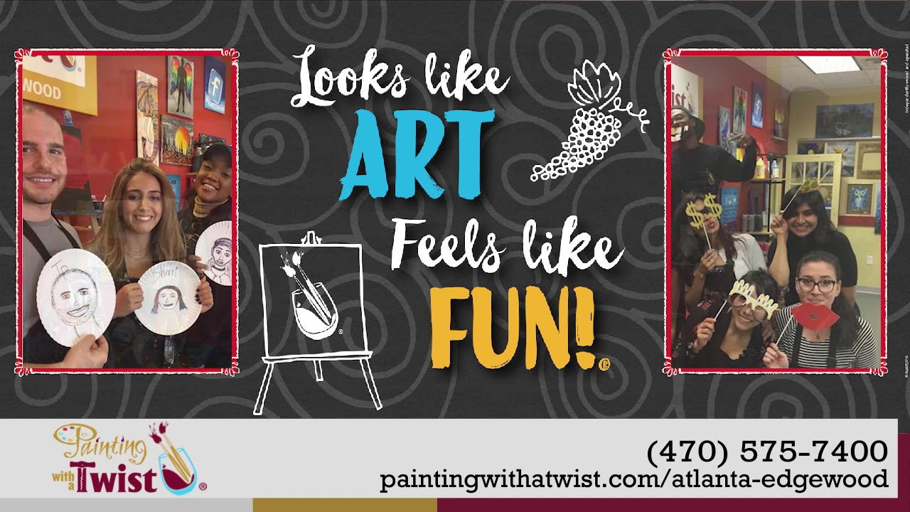Painting With A Twist Edgewood Specialty Schools In Atlanta