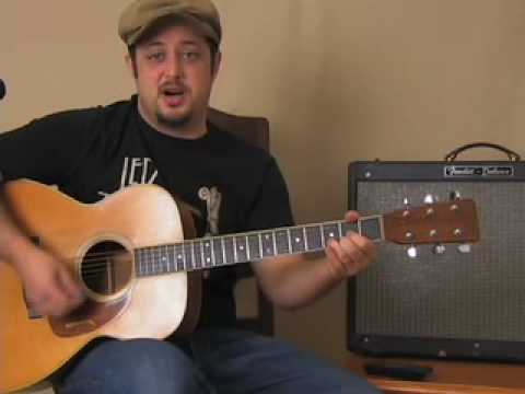 How to Play Easy Acoustic Guitar Songs : Jack Johnson style
