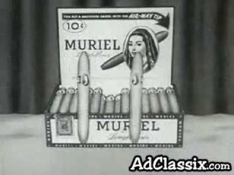 Muriel Cigars Classic TV Commercial (circa 1940s)