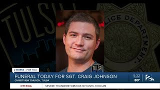 Family of Sergeant Craig Johnson Lay Him To Rest Today