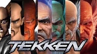 TEKKEN 1-7 All Intro Movies  - Home Editions