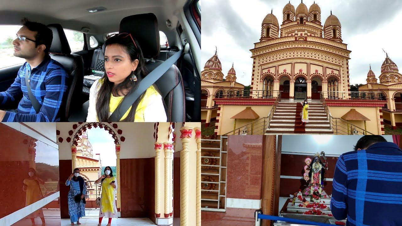 Car Leke Sidhe aa gaye Dakshineswar Kali Temple | Glam With Me