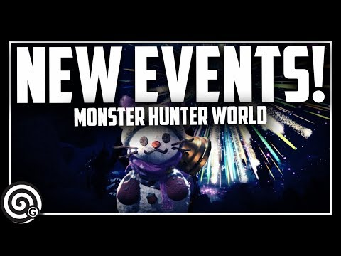 NEW EVENTS! - And new DLC coming to the PC | Monster Hunter World
