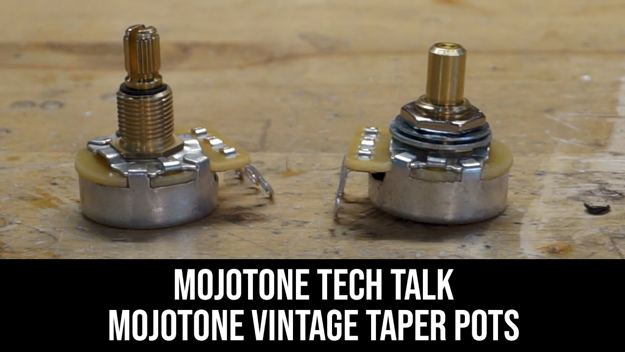 Mojotone Vintage Taper CTS 500K Short/Split Shaft Guitar