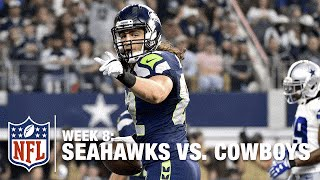 Russell Wilson Connects with Luke Willson for a 22-Yard TD! | Seahawks vs. Cowboys | NFL