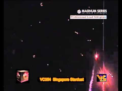 Vuurwerk Westland Kester2Wielers Magnum Series VC Singapore Stardust