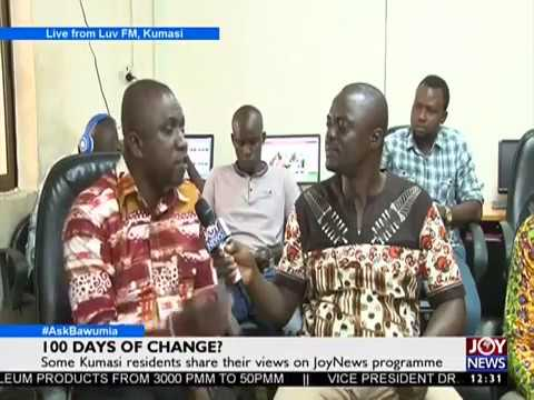 Some Kumasi residents share their views on JoyNews Programme