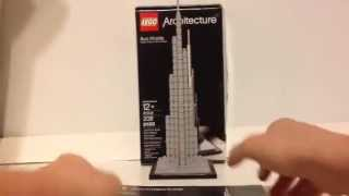 LEGO Architecture Burj Khalifa Review