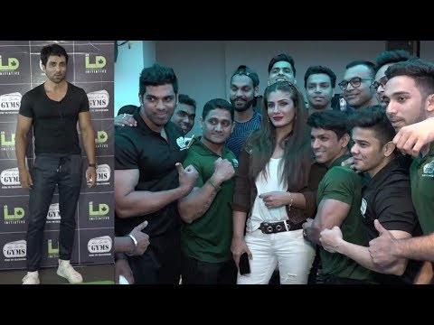 Raveena Tandon & Sonu Sood Celebrate A Fitness Party At Kris Gethin's GYM