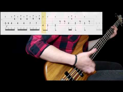 Red Hot Chili Peppers - The Power Of Equality (Bass Only) (Play Along Tabs In Video)