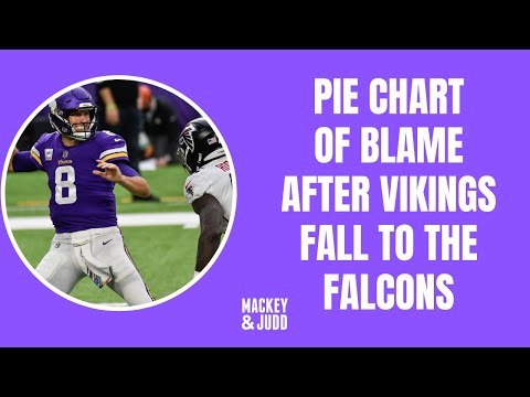 Minnesota Vikings lose to Atlanta Falcons: Pie Chart of Blame